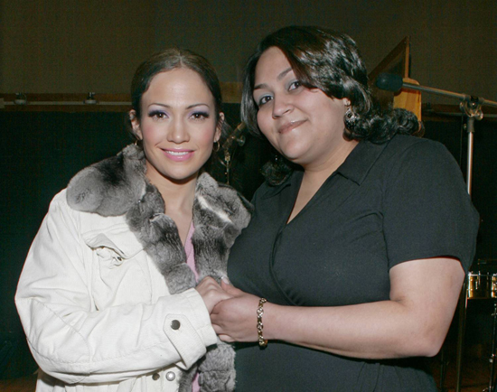 J Lo and Janet Ovalles