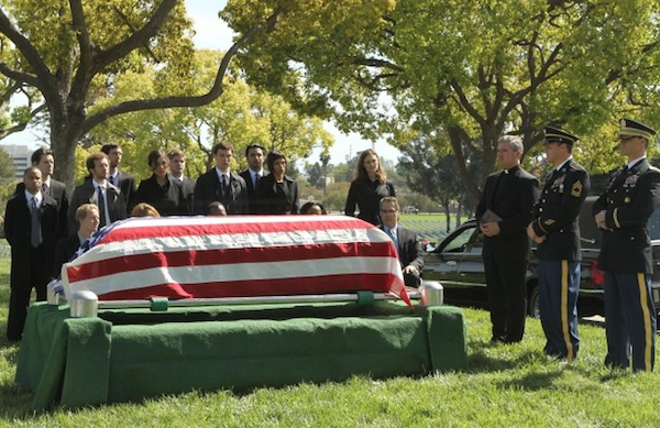 A veteran gets a hero's funeral
