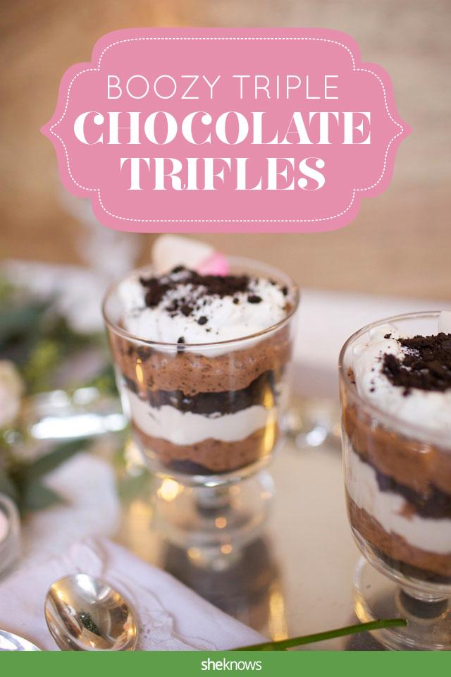 boozy trifles
