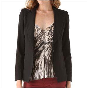 Bob Basic drape blazer