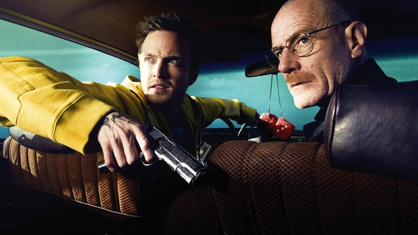 Walt and Jesse in Breaking Bad