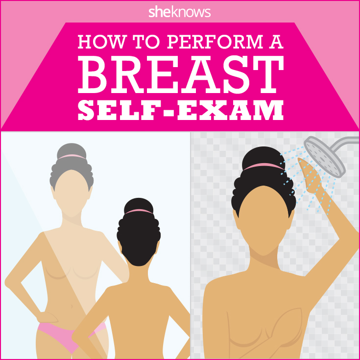 How to do self breast exam
