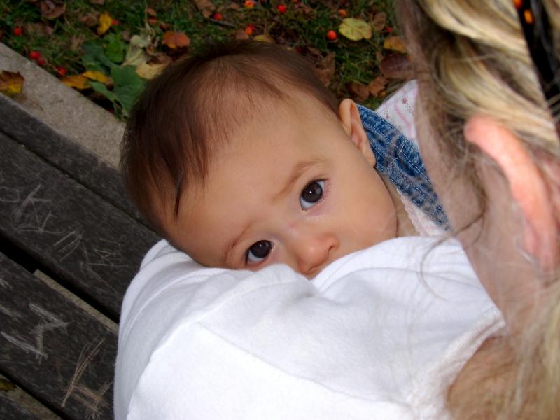mom breastfeeding baby boy