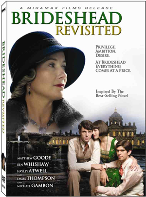 Brideshead Revisited out on DVD