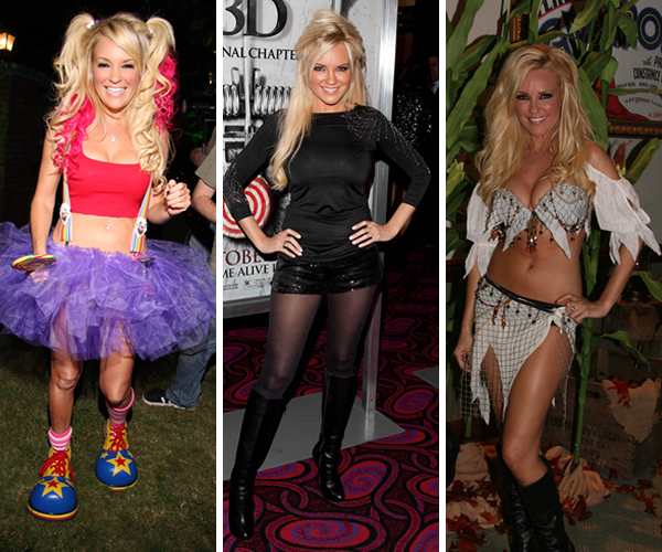 Bridget Marquardt in a Halloween beauty battle