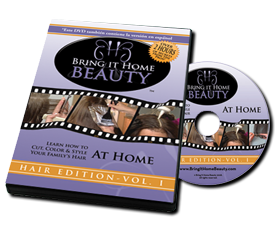 Bring it Home Beauty DVD with hair tips