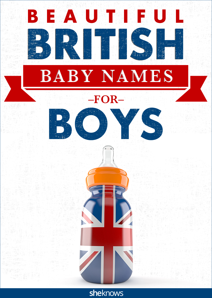 British baby boy names