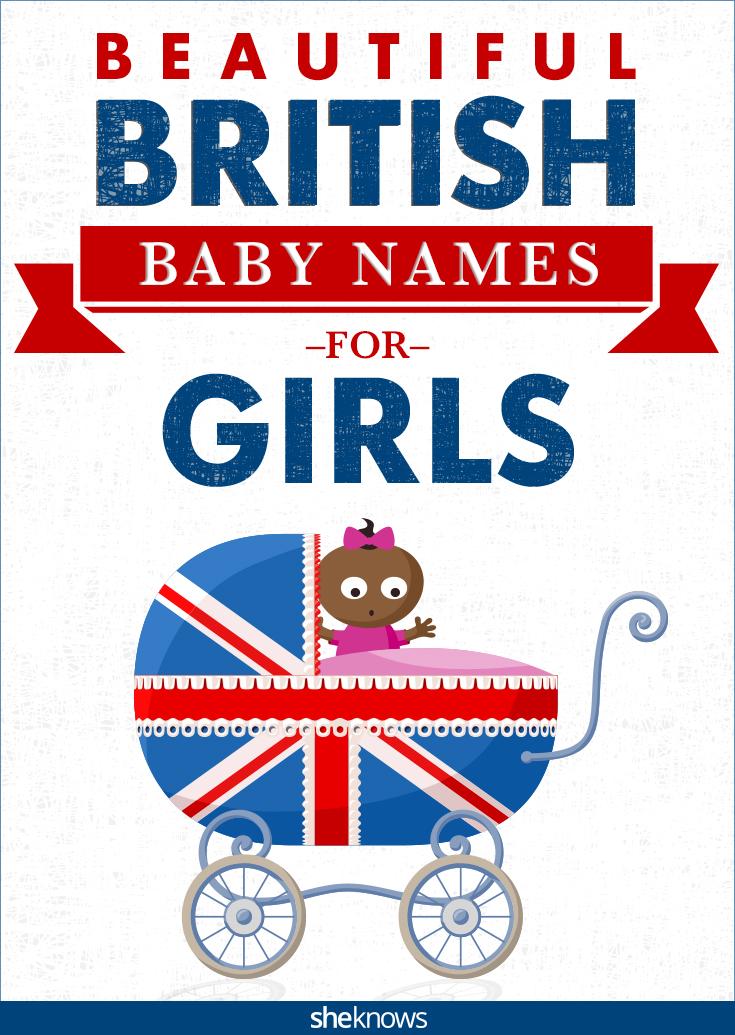 British baby girl names