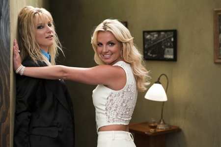 Britney Spears films Glee