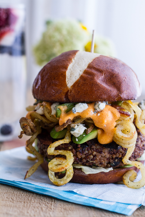 curly cheese burger