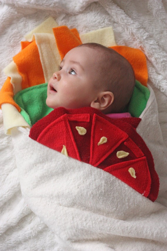 Cute Halloween costumes for babies: Burrito