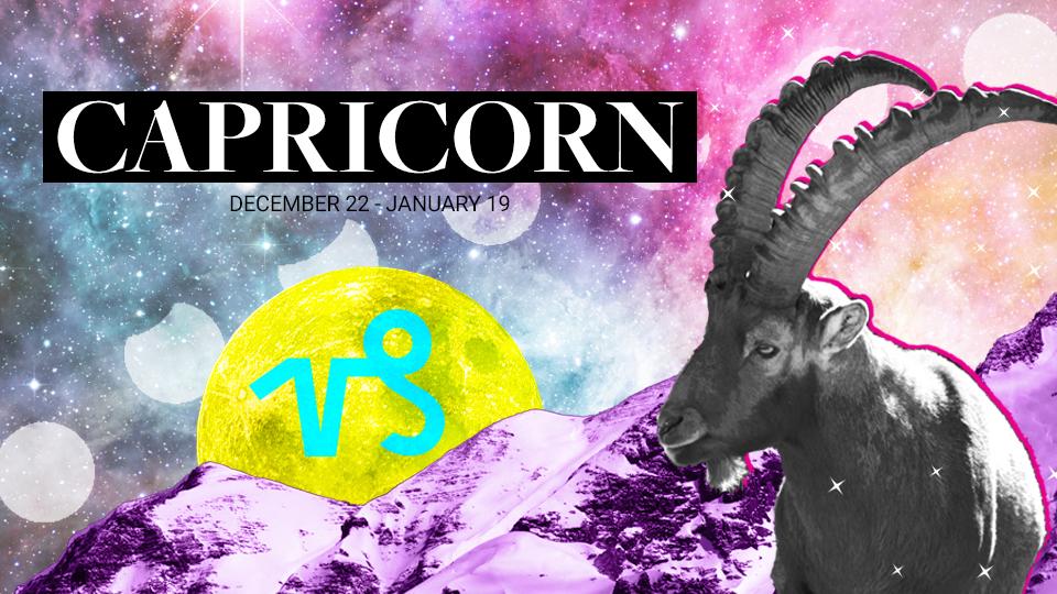 CAPRICORN (Dec. 21 - Jan. 19)