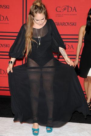 Jemima Kirke at the 2013 CFDA Awards