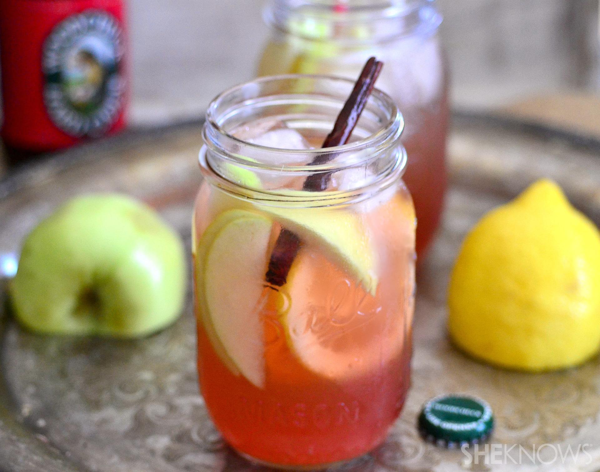 Hard cider Jack cocktails