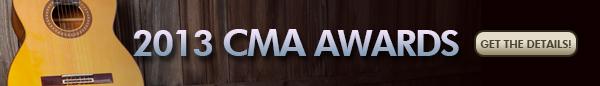 2013 CMA Awards banner