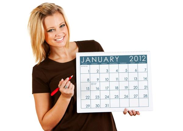 Use a calendar to avoid procrastination