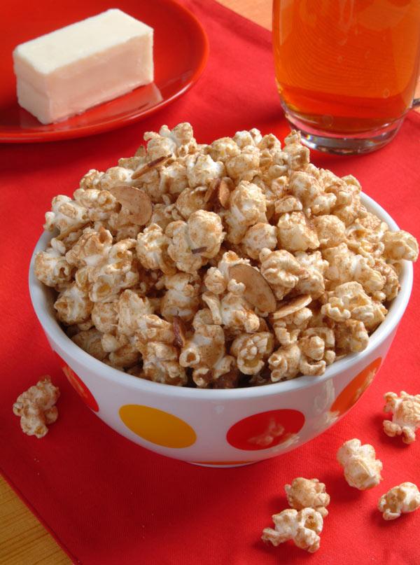 California Almond Butter Popcorn