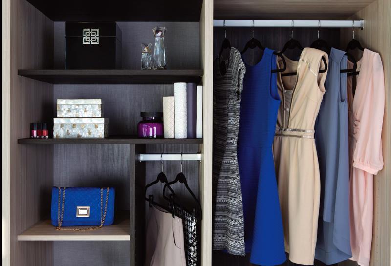 Organized Closet from California Closets