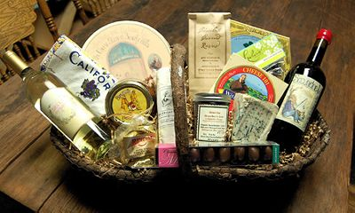 California Feast Gift Basket from The Cheese Store of Beverly Hills
