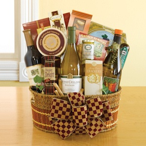 California Wine Trio Basket from All About Gifts and Baskets