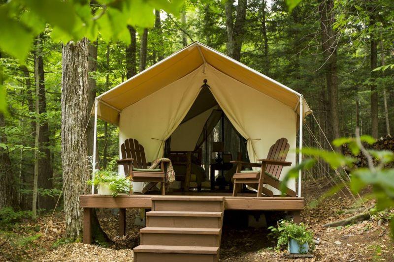 Crazy Beautiful Glampgrounds: Camp Orenda; Johnsburg, New York | Summer Travel