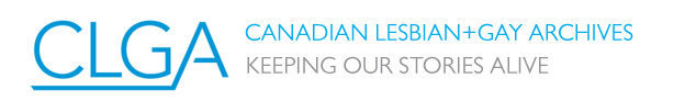Canadian Lesbian and Gay Archives