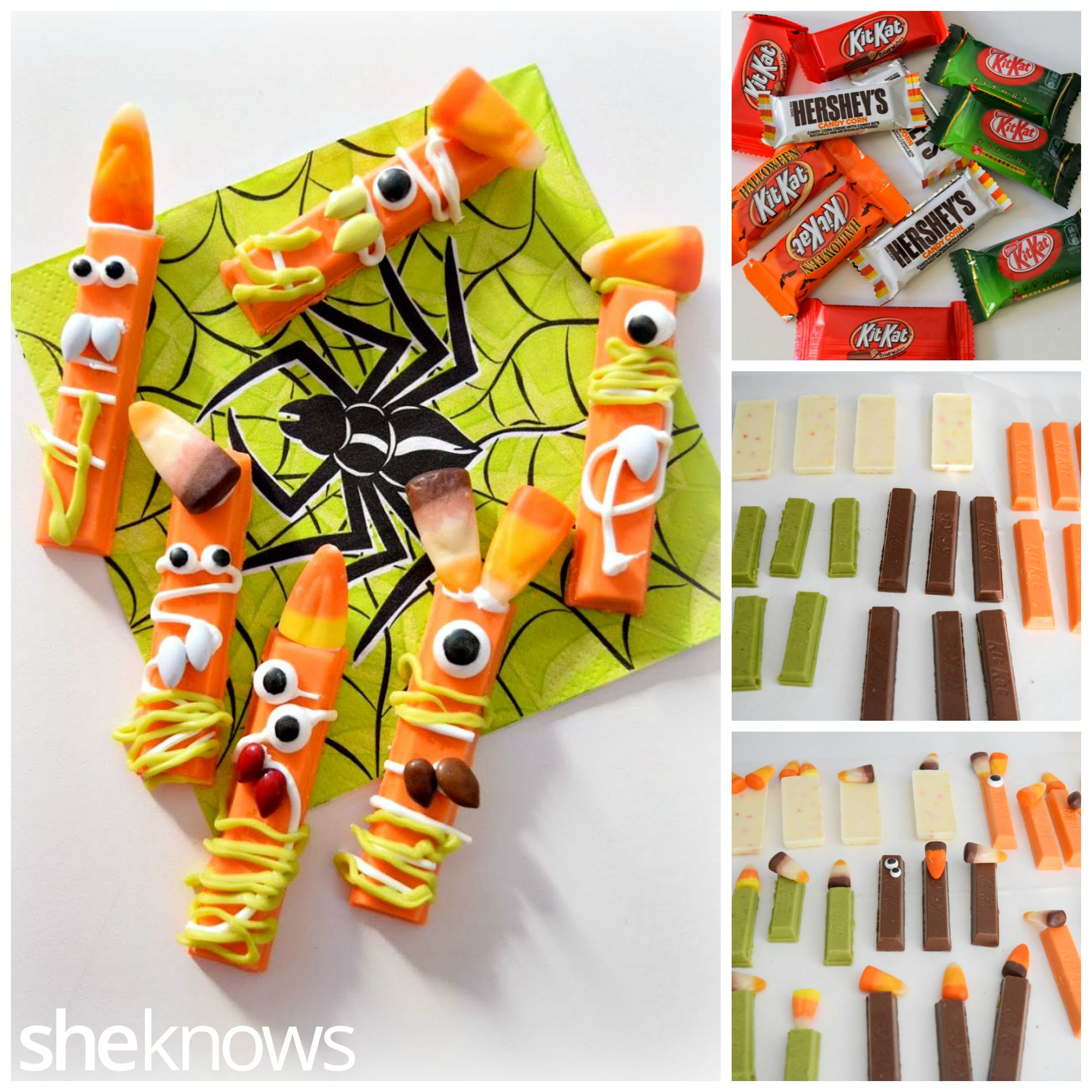 Candy Kit Kat Monsters