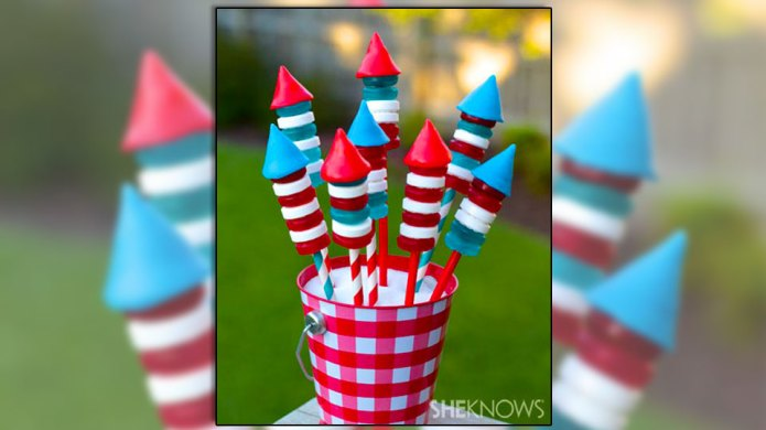 Holy smokes, these candy-poppin' bottle rockets