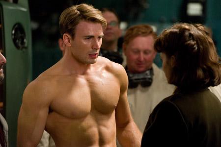 Chris Evans as Captain America