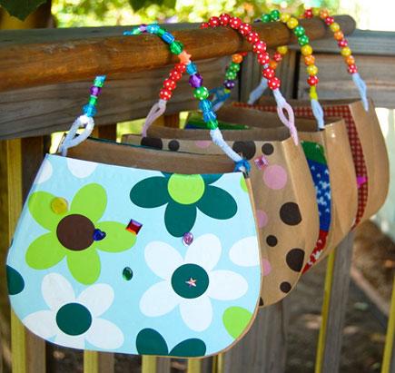 Cardboard purse