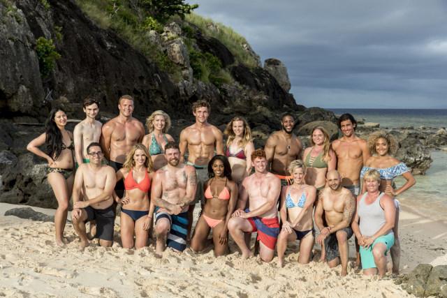 Full cast photo for Survivor: Heroes Vs. Healers Vs. Hustlers