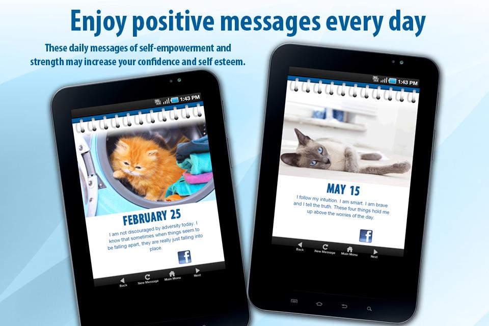 Cat calendar app