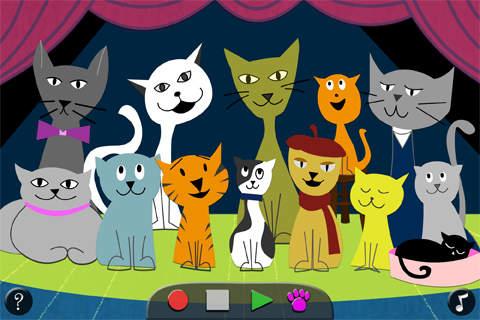 Cat music app
