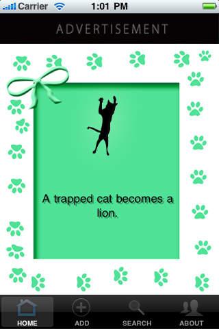 Cat quote app