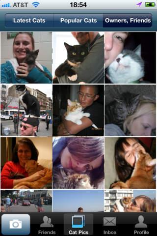 Cat pictures app