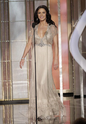 Catherine Zeta Jones Golden Globes