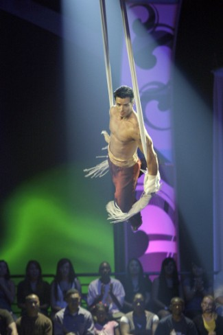 Marvel at death defying acts by...celebs!