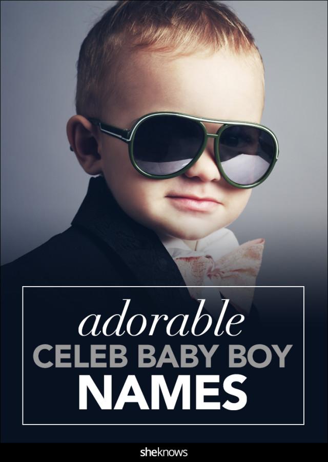Celebrity baby boy names