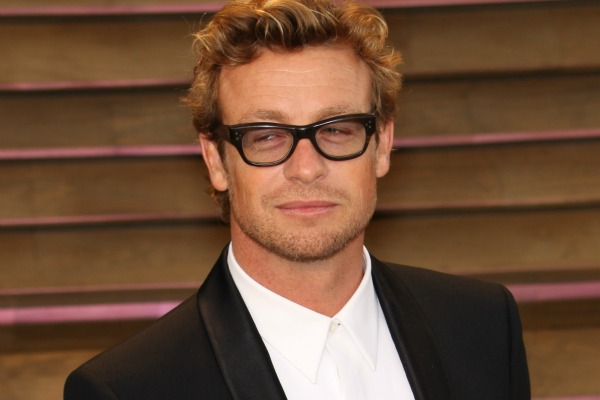 Simon Baker and celebrities who wear glasses