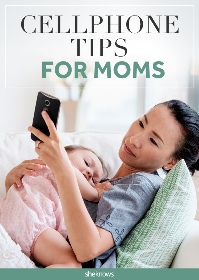 Cellphone tips for moms