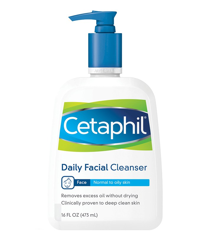 Cetaphil Daily Facial Cleanser for Normal to Oily Skin Read more: http://stylecaster.com/beauty/best-face-wash-for-skin-type/#ixzz4UiDnGMfA