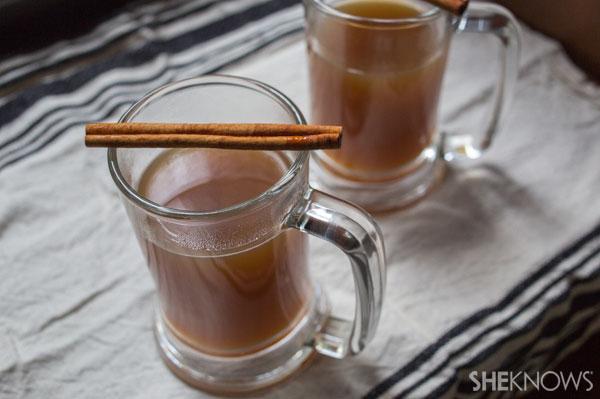 Chai tea pear cider