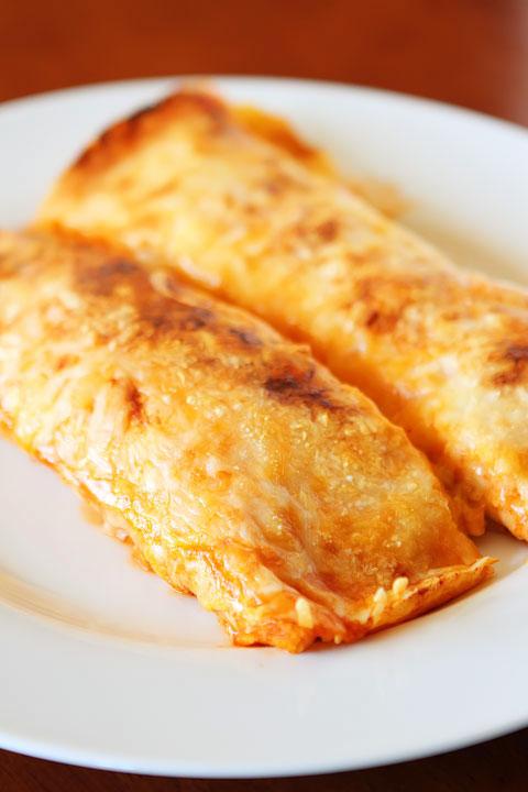 cheesy burrito