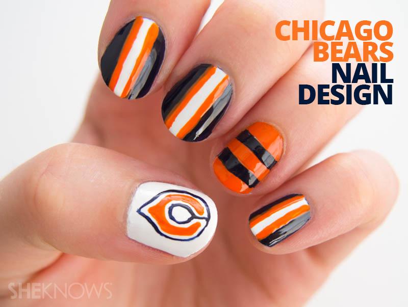 Chicago Bears fan-icure