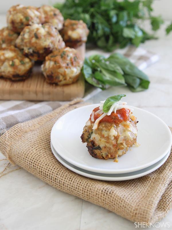 chicken parm muffins