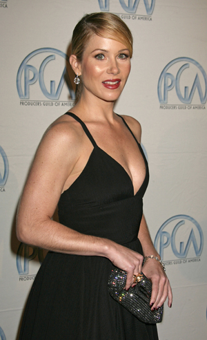 Christina Applegate at the Producers Guild of America Awards