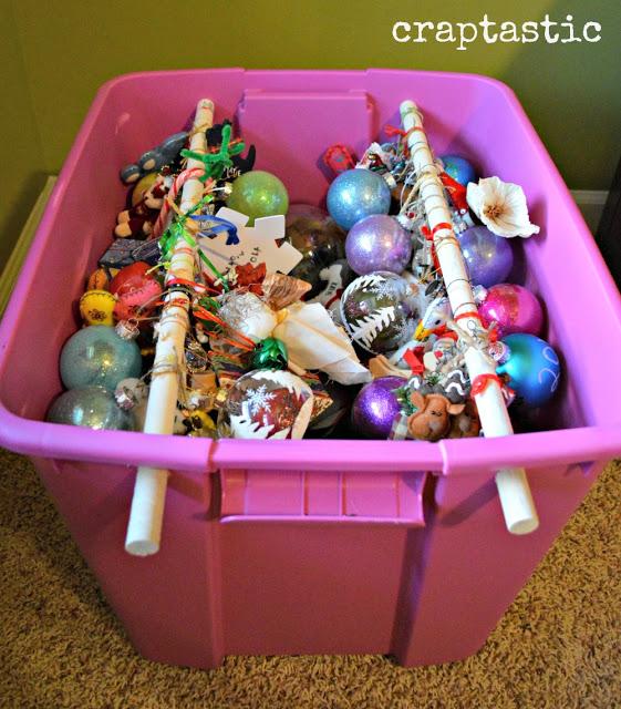 Ornament bins