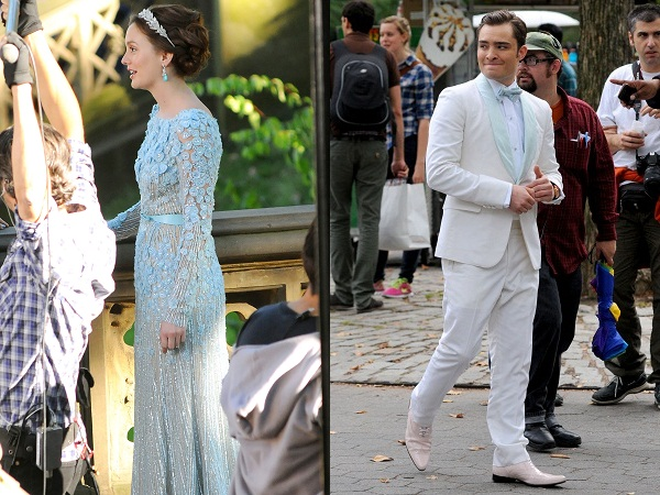Chuck and Blair's possible wedding attire?