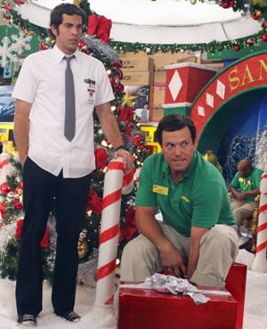 Chuck celebrates Christmas