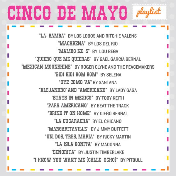 The ultimate Cinco de Mayo playlist